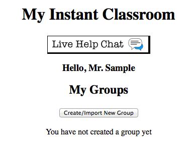 Instant Classroom